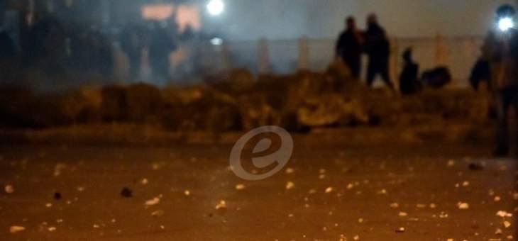 عمليات الكر والفر بين المتظاهرين والقوى الأمنية لا تزال مستمرة