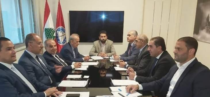 كتلة اللقاء الديمقراطي اجتمعت برئاسة تيمور جنبلاط وناقشت الاوضاع الراهنة