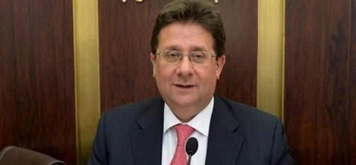 كنعان: ملف الحسابات المالية وُضع على السكة الصحيحة ومبادرة عون الإنقاذية من الأهم بتاريخ لبنان