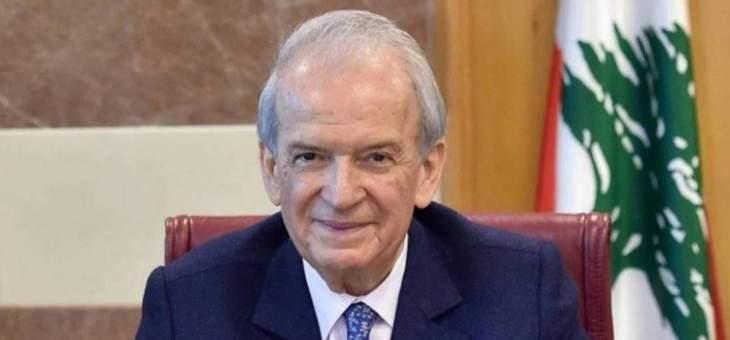 """حمادة: على لبنان أن يفكّ ارتباطه العلني والسري مع """"جبهة الممانعة"""""""