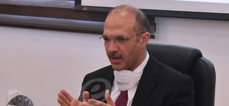 حسن: اللجنة العلمية ستجتمع اليوم لبحث قرار إقفال البلد والتعاطي الصحي يختلف عن ذلك الأمني