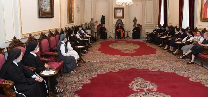 الراعي استقبل وفدا من الأمانة العامة للمدارس الكاثوليكية في لبنان