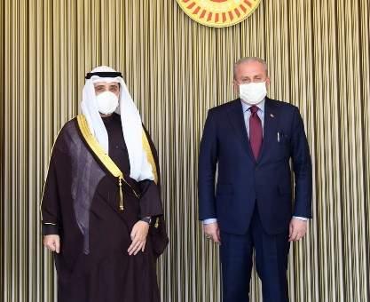 رئيس البرلمان التركي: لا نرى أمننا بمعزل عن أمن الخليج ومستعدون للحوار مع كل دول المنطقة
