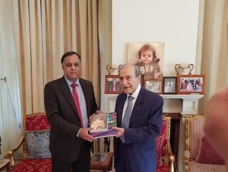 الخليل اولم لسفير الهند: متمسكون بحق لبنان في الدفاع عن سيادته