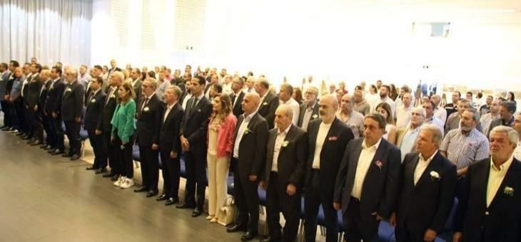 لقاء في برج حمود لبحث أثر مشروع محطة تكرير المياه المبتذلة لشمالي بيروت الكبرى