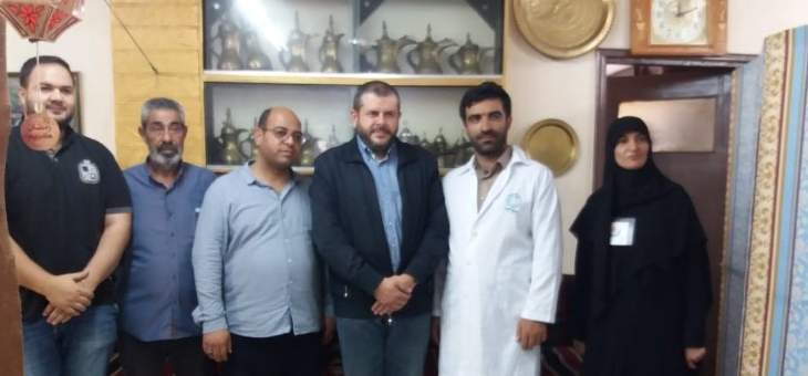 حزب الله وجمعية أطباء رساليين بلا حدود في ايران نظما يوما صحيا مجانيا دعما لمخيمات لبنان