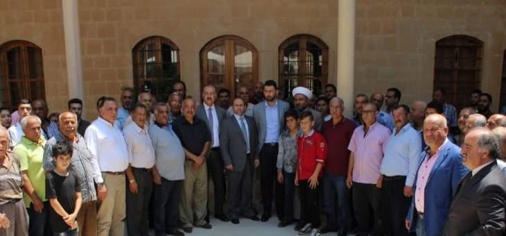 تيمور جنبلاط استقبل عددا من الوفود الشعبية والاهلية والاجتماعية والبلدية