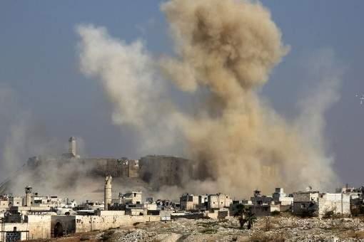 القوات التركية تسقط قذائف صاروخية على تل رفعت ومحيطها بريف حلب الشمالي
