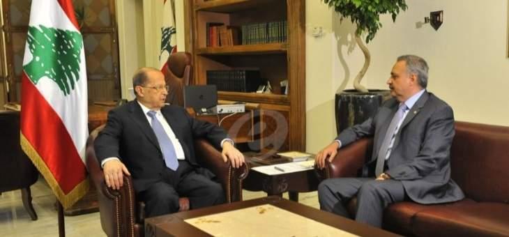 النائب ارسلان تلقى اتصال معايدة من الرئيس عون