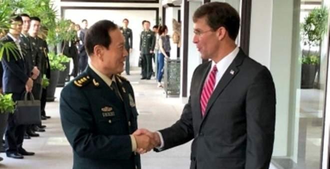 """وزير الدفاع الصيني حث أميركا على """"الكف عن استعراض العضلات"""" ببحر الصين الجنوبي"""