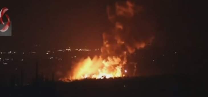 الدفاع الجوي السوري يتصدى لغارات اسرائيلية استهدفت جنوب غرب اللاذقية