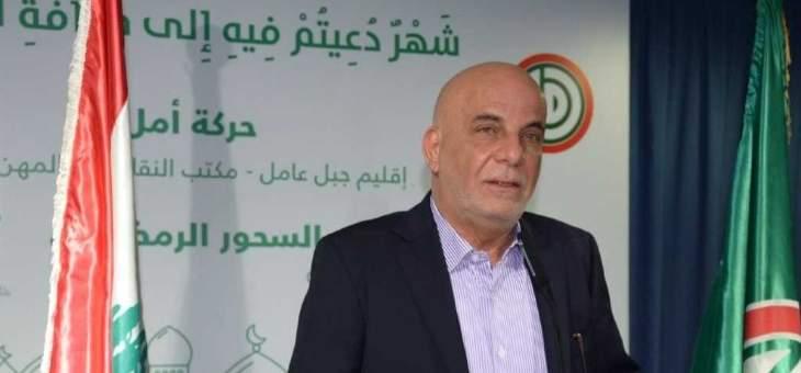 علي خريس: العدو الإسرائيلي سيبقى العدو الأول والأساسي