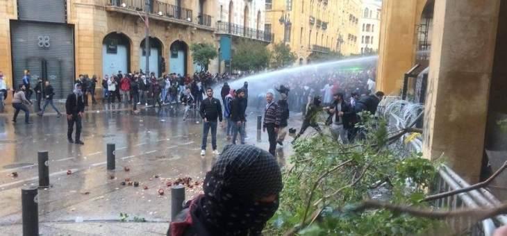 الجيش يستقدم تعزيزات الى محيط المجلس النيابي مع استمرار الاشتباكات