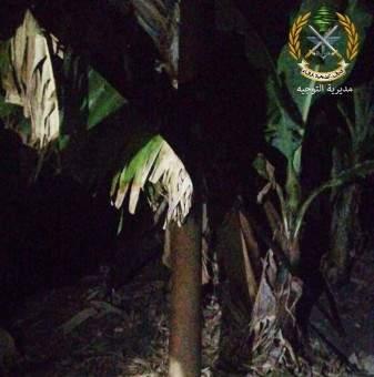 وحدات الجيش عثرت على 3 صواريخ في محيط مخيم الرشيدية في منطقة صور