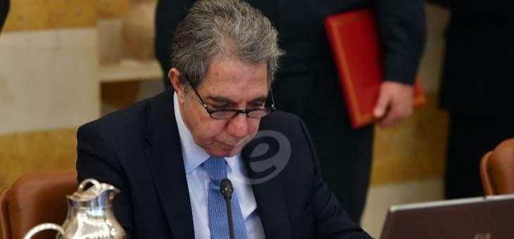 وزير المال علق العمل بأحد بنود التعميم رقم 2916 مراعاة لأوضاع المكلفين