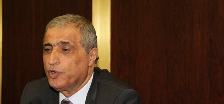 هاشم: أبو سليمان قام بدوره وطبق القانون والموازنة ليست ميثالية
