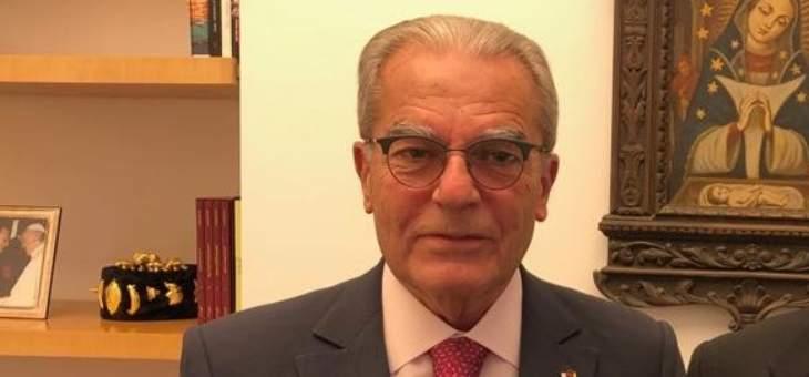 الخازن التقى سبيتيري:رحّب بتعيين عبد الساتر رئيسًا لأساقفة بيروت