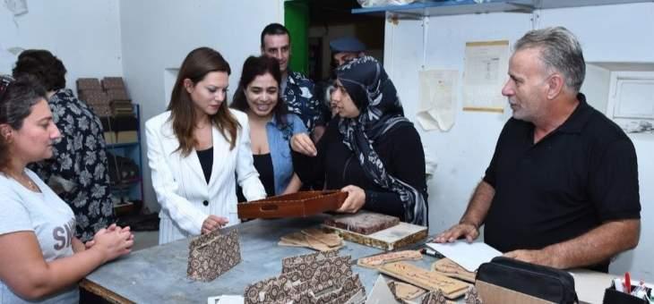 الصفدي جالت بجناح الأحداث برومية: الإصلاحيات ضرورة لإعادة انخراطهم بالمجتمع