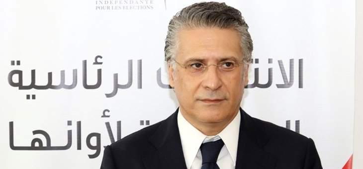 المكتب الإعلامي لنبيل القروي نفى إمكانية انسحابه من الدور الثاني لانتخابات الرئاسة بتونس