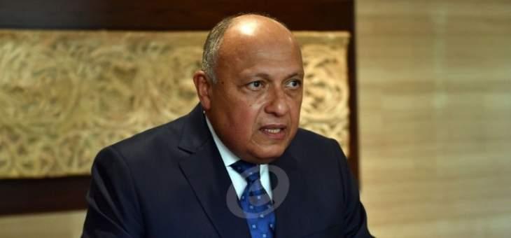 وزيرا خارجية مصر والسعودية تباحثا بالتطورات في فلسطين