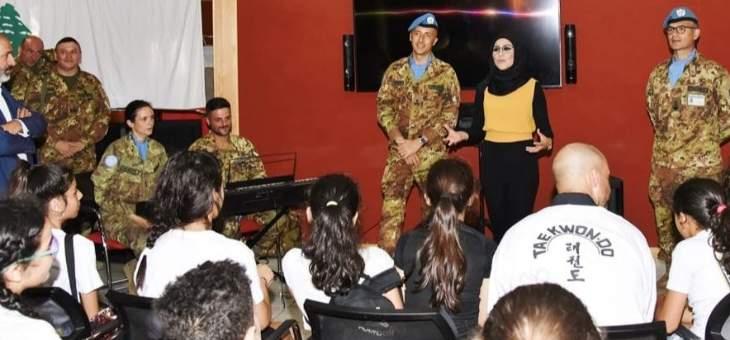 الكتيبة الإيطالية تنظم أنشطة صيفية لعوائل شهداء الجيش اللبناني وقوى الأمن بشمع