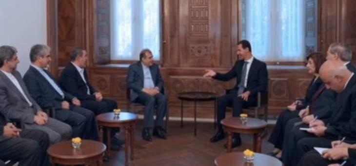 الأسد: هناك محاولات لتعقيد الملفات