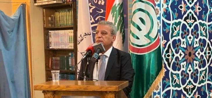 بزي: نفصل بين حراك وجع الناس الذي نؤيده وندعمه وحراك الاستهداف العشوائي