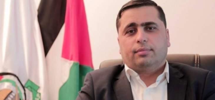 """القنوع: """"حماس"""" موافقة على إجراء انتخابات عامة والمشاركة بها"""