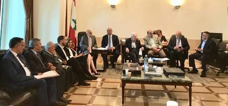 اجتماع في السراي تابع مشاريع طرابلس واتفاق على تسريع تنفيذ الأعمال