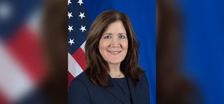 السفيرة الأميركية في لبنان للنشرة: ما زلنا نراقب جهود هذه الحكومة لفرض إصلاحات حقيقية وذات مغزى