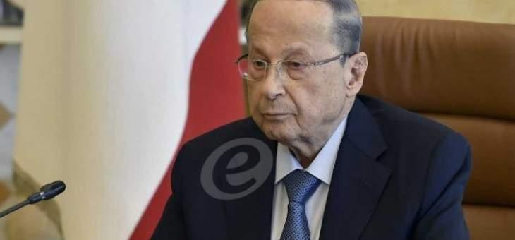الرئيس عون التقى باتريك برناسكوني على رأس وفد مرافق