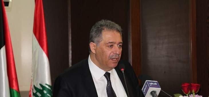 دبور بحث مع سفير جنوب افريقيا في لبنان وسوريا اخر المستجدات في المنطقة