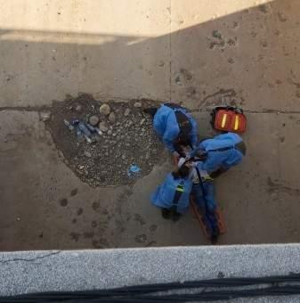 وفاة مواطن رمى بنفسه من على جسر برج حمود