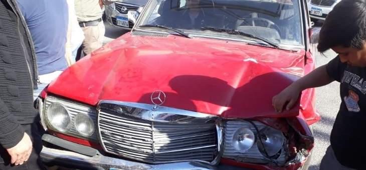 النشرة: سقوط 3 جرحى بحادث سير على طريق ديرزنون