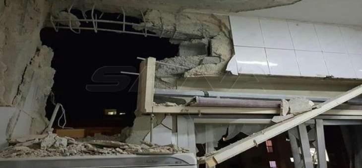 مقتل شخصين واصابة آخرين جراء الغارات الإسرائيلية على ضواحي دمشق