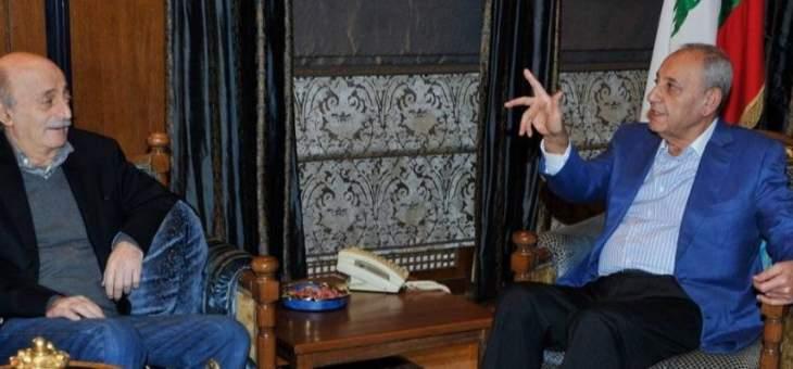 الجديد: بري وجنبلاط يدعمان الحريري لكن عليه أن يلتقط اللحظة ويرمي الكرة بملعب عون