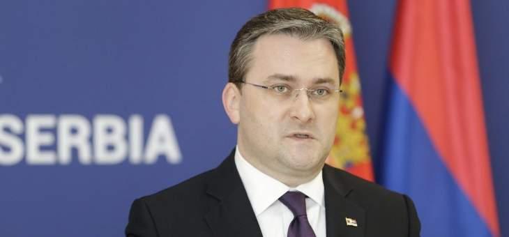 وزير خارجية صربيا: ندعم الاتفاق النووي ونأمل بتطوير العلاقات الاقتصادية مع إيران