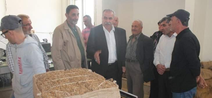حسن فقيه: مزارعو التبغ احترقت مزروعاتهم ولم يعوض عليهم