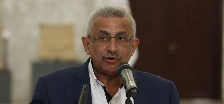 سعد عن ترسيم الحدود البحرية: التحكيم الدولي أفضل للبنان والمفاوضات فيها تنازلات