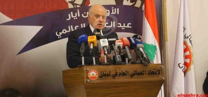 أبو سليمان ترأس اجتماعا لمتابعة خطة مكافحة اليد العاملة غير الشرعية بعد 9 تموز