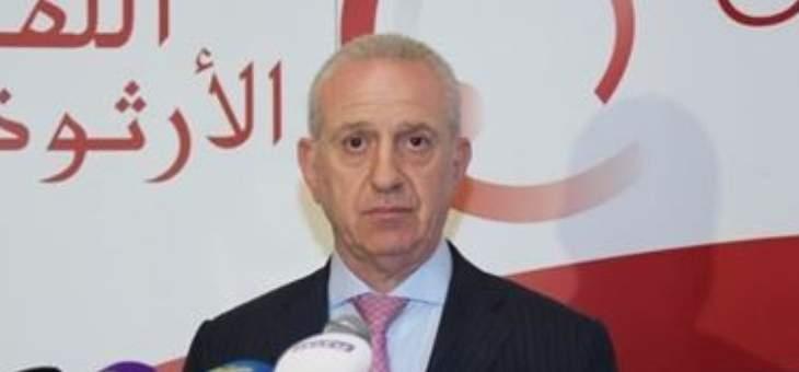 مروان أبو فاضل: ليكن مركز نائب رئيس الوزراء متحررا من الصفة الحزبية بالحكومة المقبلة