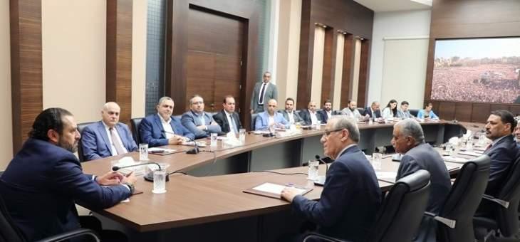 الحريري اطلع من العلوان وجبق على بنود مذكرة التفاهم الموقعة بين لبنان والعراق