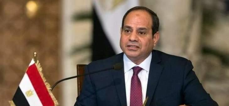 السيسي ناقش تعزيز التعاون العسكري مع وزيرة الدفاع الألمانية