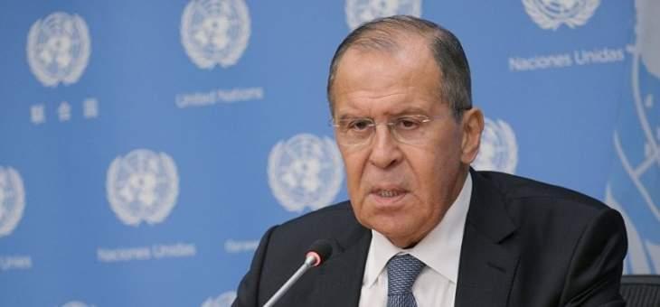 لافروف: الاتفاق على تسيير دوريات روسية تركية في شمال شرق سوريا