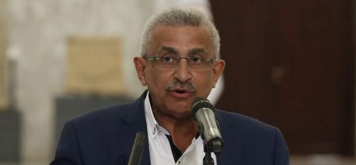 سعد: النصر بفلسطين يجب أن تعززه وحدة سياسية تعبّر عن إرادة الشعب المنتفض
