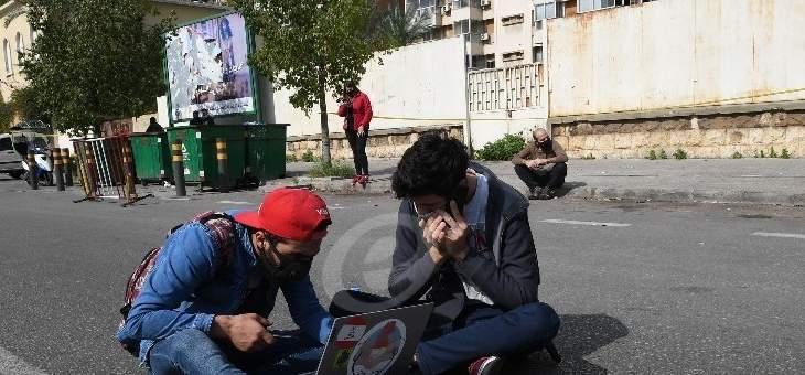 اعتصام امام المحكمة العسكرية للمطالبة باطلاق موقوفي طرابلس