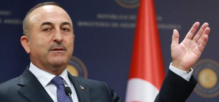 جاويش أوغلو: تركيا حققت انتصارا عسكريا ودبلوماسيا في سوريا