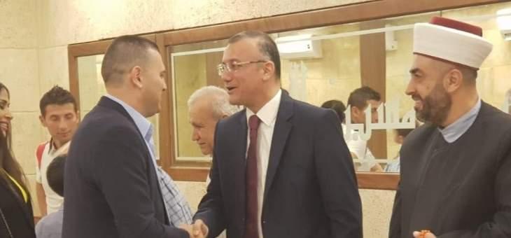 درويش مستقبلا المهنئين بالعيد: رهاننا على التعاون والتصالح