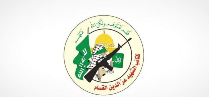 كتائب القسام تعلن استهداف منصة غاز إسرائيلية في البحر المتوسط بطائرة مسيرة
