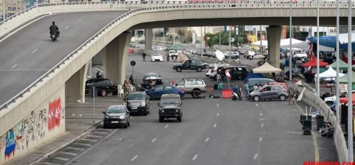 انتشار للجيش على أوتوستراد جل الديب وحركة السير عادية